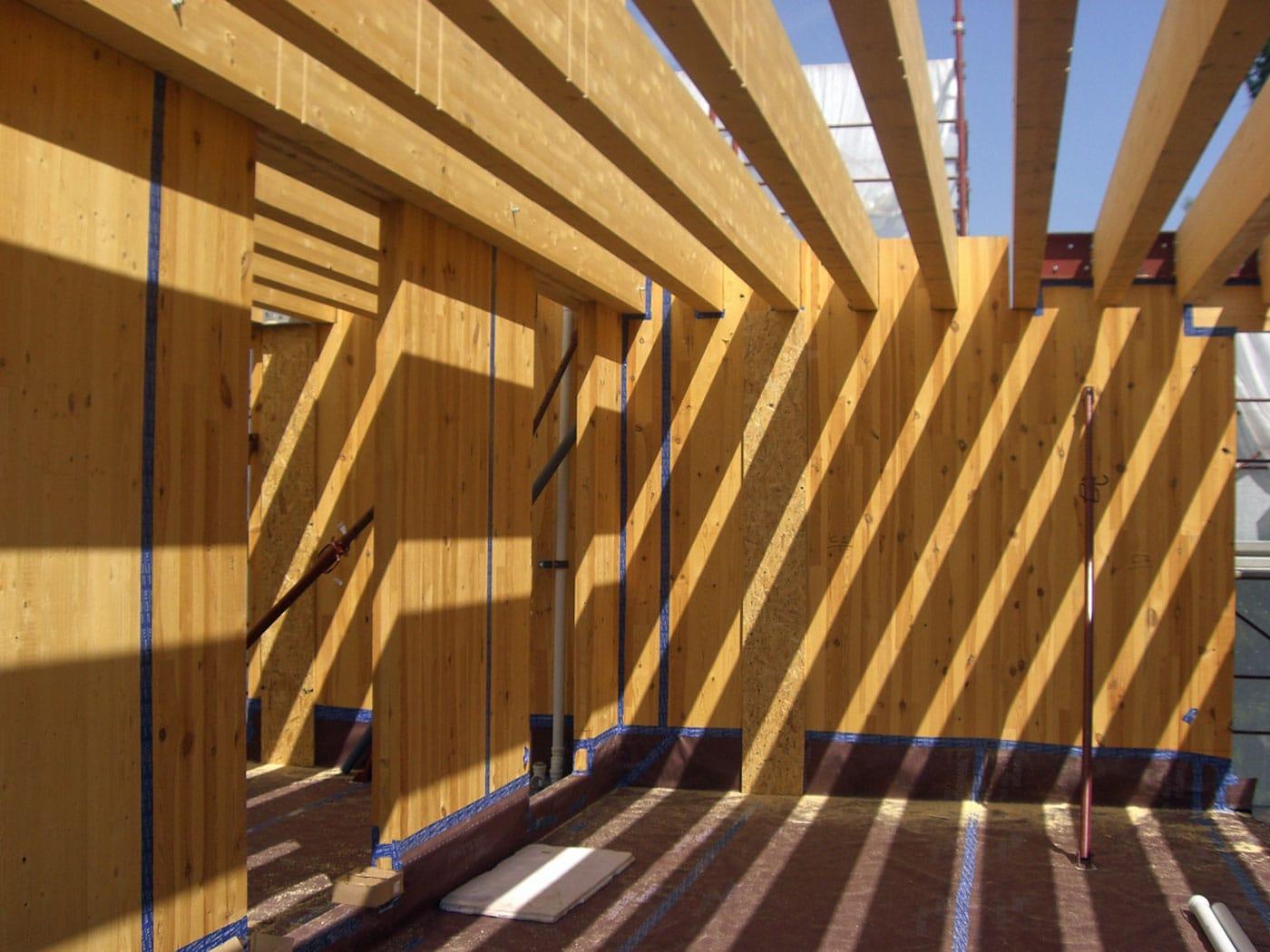 Case in legno prefabbricate chiavi in mano - Piscina di tavagnacco ...