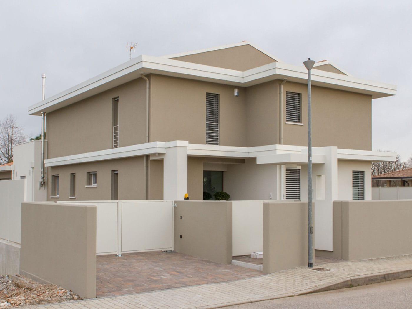 Case in legno prefabbricate chiavi in mano for Villa moderna progetto