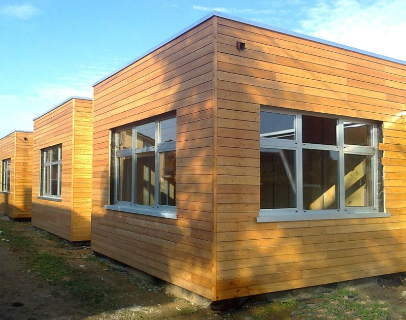 Rivestimento esterno in legno di larice