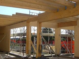 Montaggio struttura
