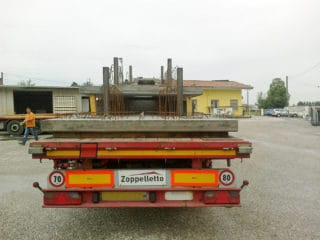 Elementi faccia a vista a completamento di una struttura di contenimento - trasporto