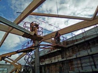 Copertura di un capannone uso officina a Portogruaro