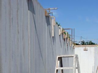 Fase di posa in opera Z Wall