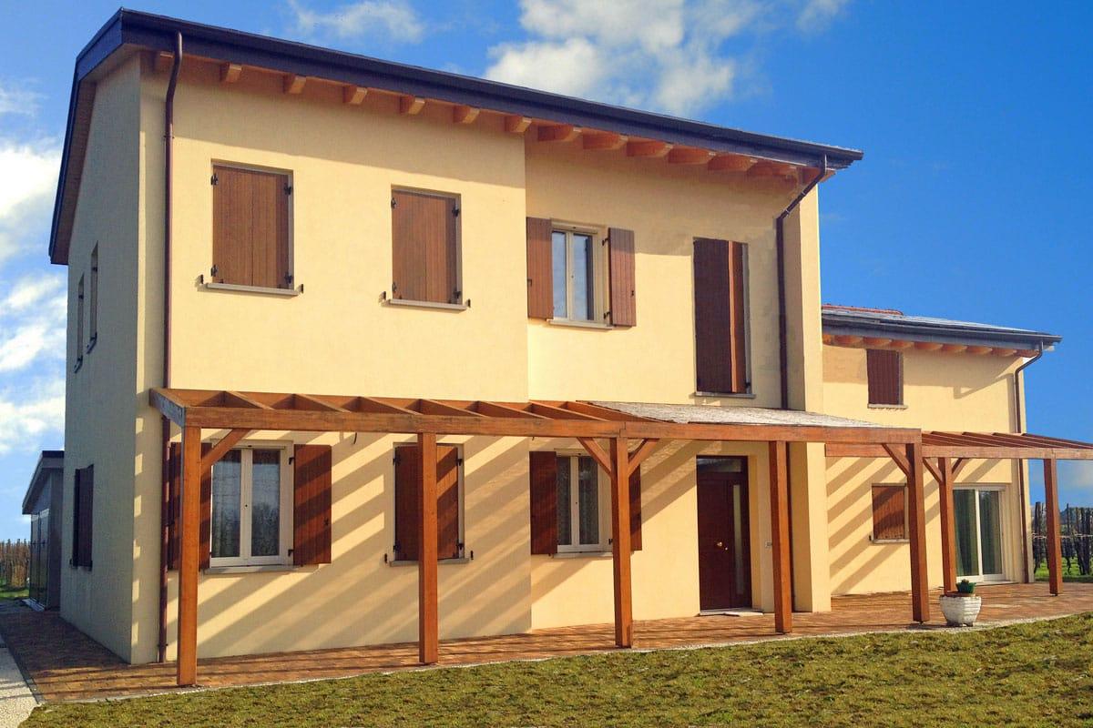 Villa colonica a lugo ra zoppelletto srl for Villa legno