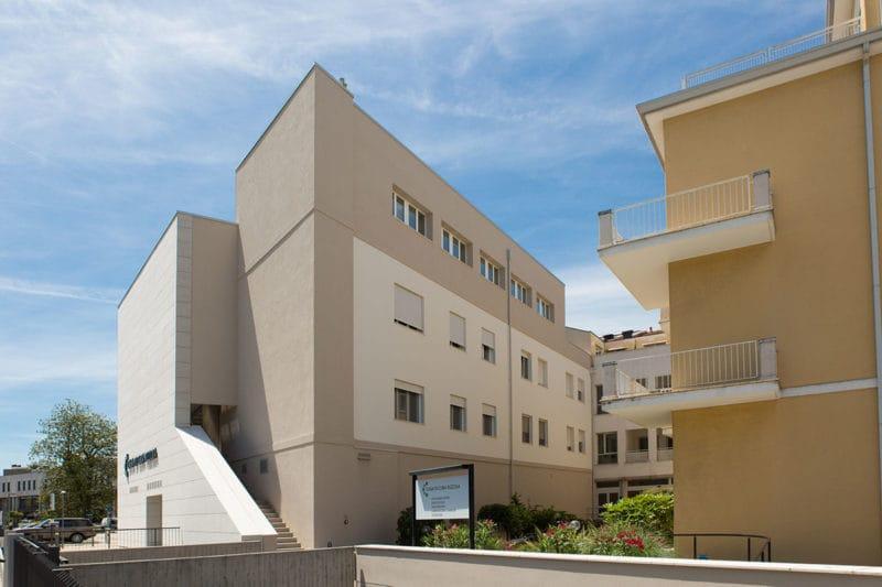 Ampliamento casa di cura in X-Lam